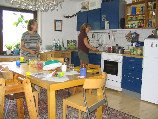 Desiree und Martin's kitchen