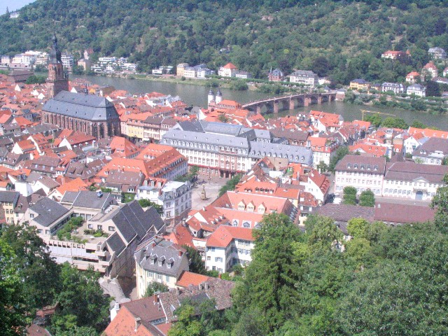 Bad photo of Heidelberg